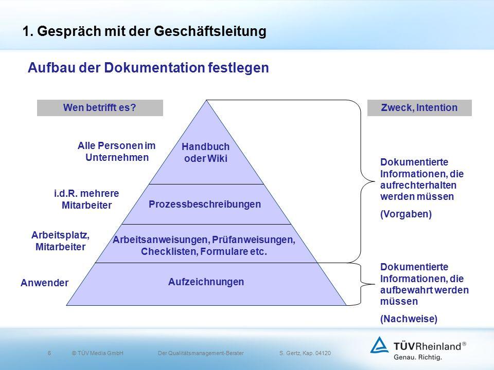 6© TÜV Media GmbH Der Qualitätsmanagement-Berater S.