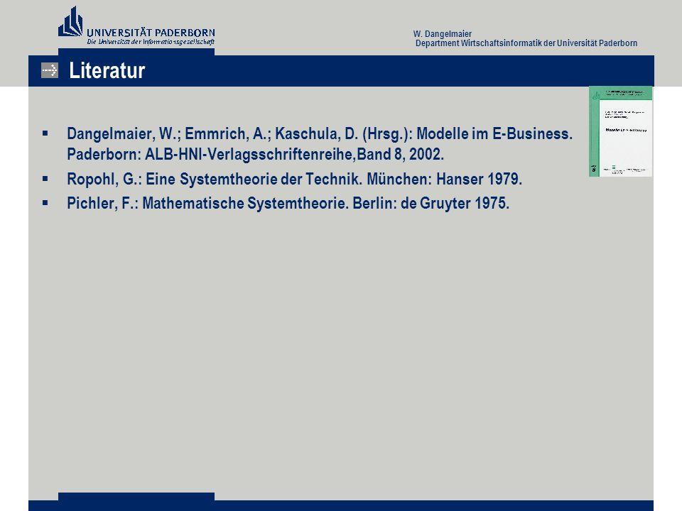  Dangelmaier, W.; Emmrich, A.; Kaschula, D. (Hrsg.): Modelle im E-Business.