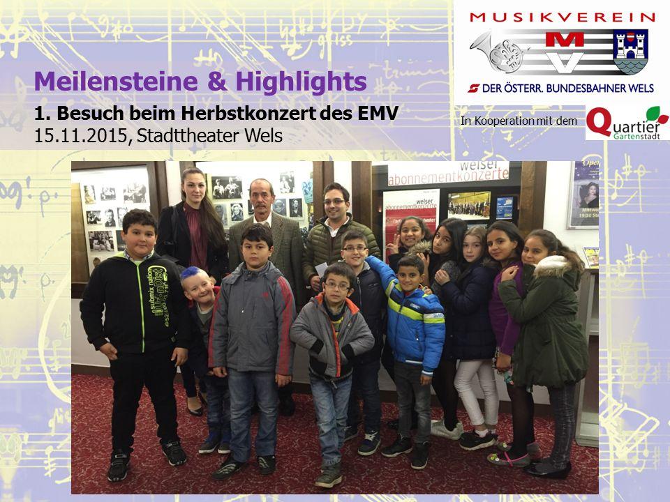 In Kooperation mit dem Meilensteine & Highlights 1.