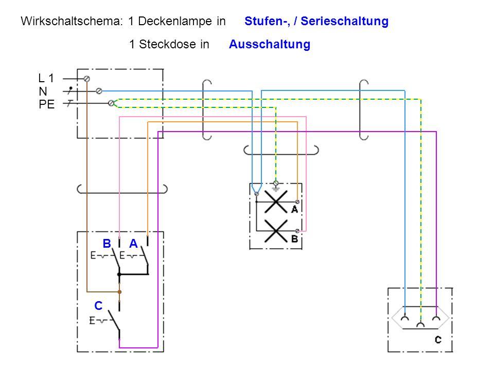 Fantastisch Steckdose Geschaltet Galerie - Elektrische ...