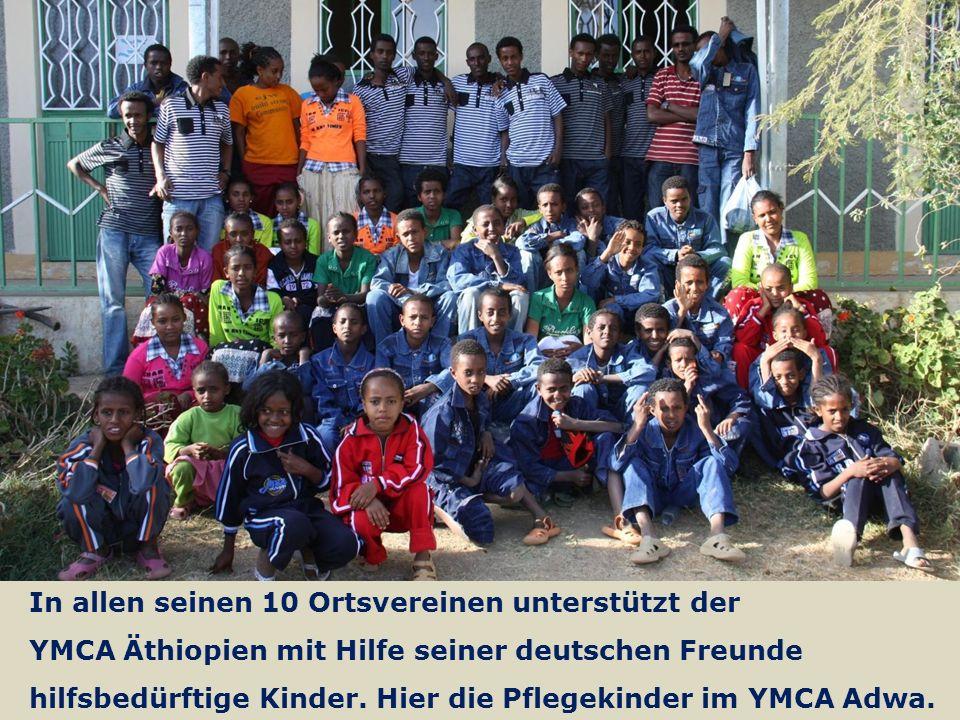 13 We are one EJW-Weltdienst Jahresaktion 2016-2017 Äthiopien: Hilfe für Straßenkinder und Seed Money Fritz Leng In allen seinen 10 Ortsvereinen unterstützt der YMCA Äthiopien mit Hilfe seiner deutschen Freunde hilfsbedürftige Kinder.