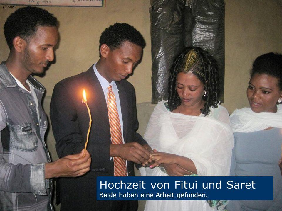 19 We are one EJW-Weltdienst Jahresaktion 2016-2017 Äthiopien: Hilfe für Straßenkinder und Seed Money Fritz Leng (3 Min) Hochzeit von Fitui und Saret Beide haben eine Arbeit gefunden.