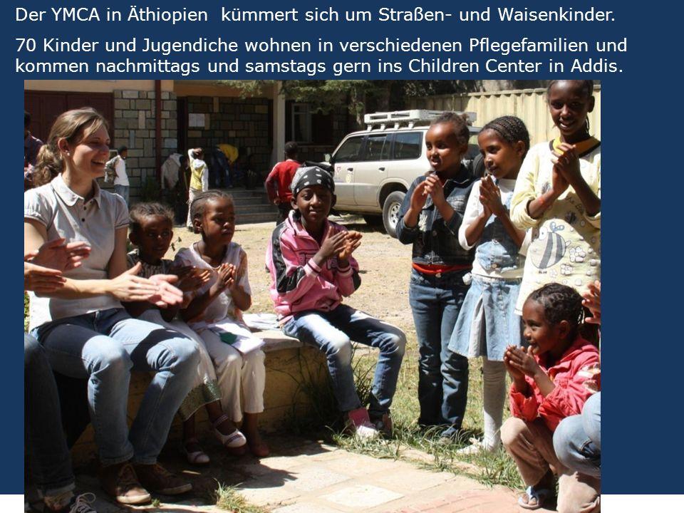 9 We are one EJW-Weltdienst Jahresaktion 2016-2017 Äthiopien: Hilfe für Straßenkinder und Seed Money Fritz Leng Der YMCA in Äthiopien kümmert sich um Straßen- und Waisenkinder.