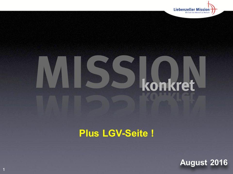 1 August 2016 Plus LGV-Seite !
