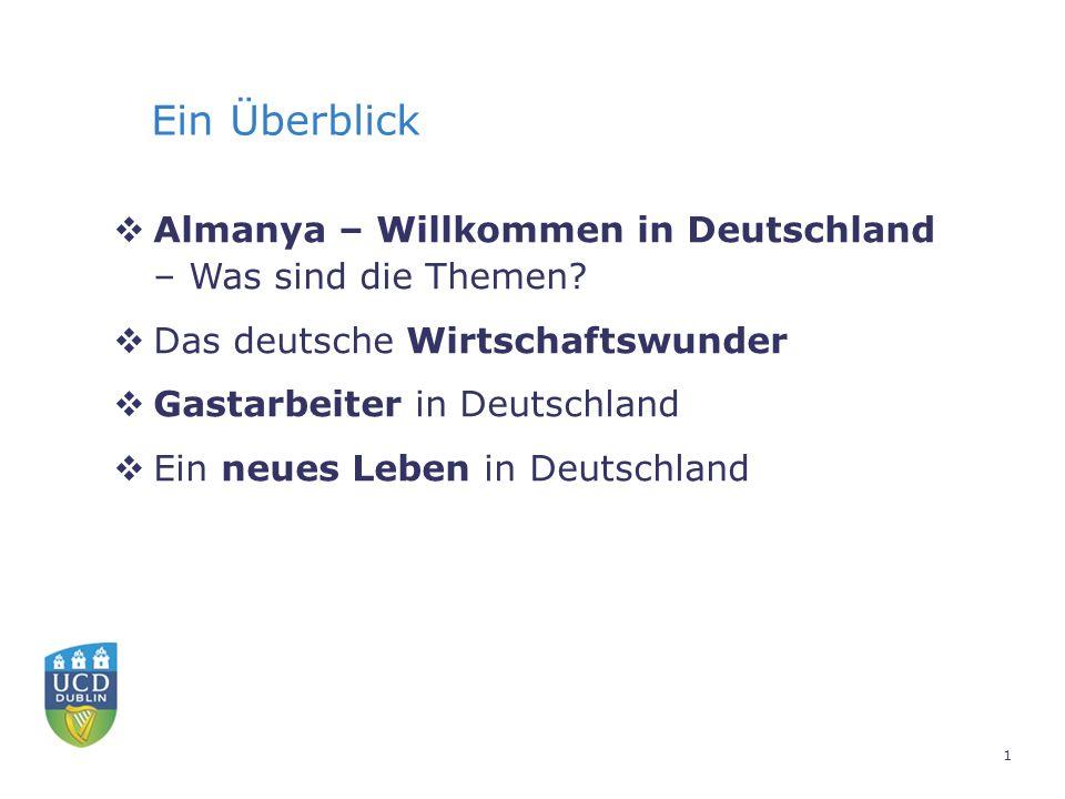 Ein Überblick  Almanya – Willkommen in Deutschland – Was sind die Themen.