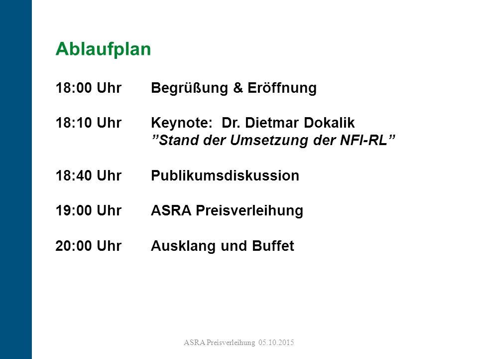 3 Ablaufplan 18:00 Uhr Begrüßung & Eröffnung 18:10 Uhr Keynote: Dr.