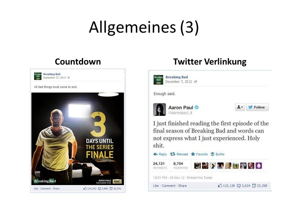 Allgemeines (3) CountdownTwitter Verlinkung