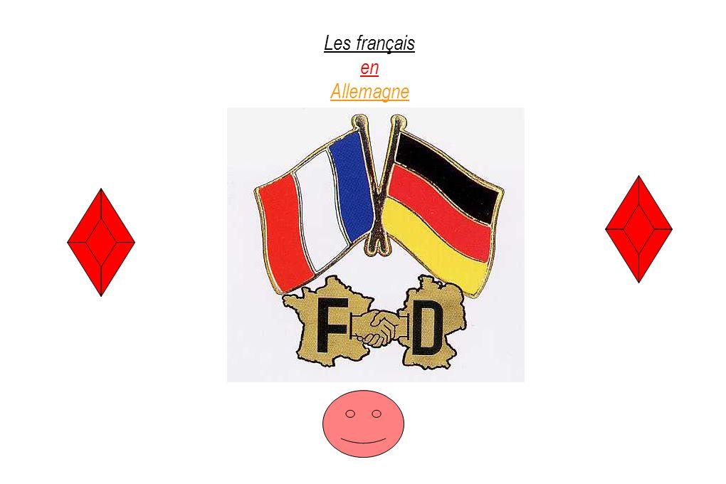 Les français en Allemagne