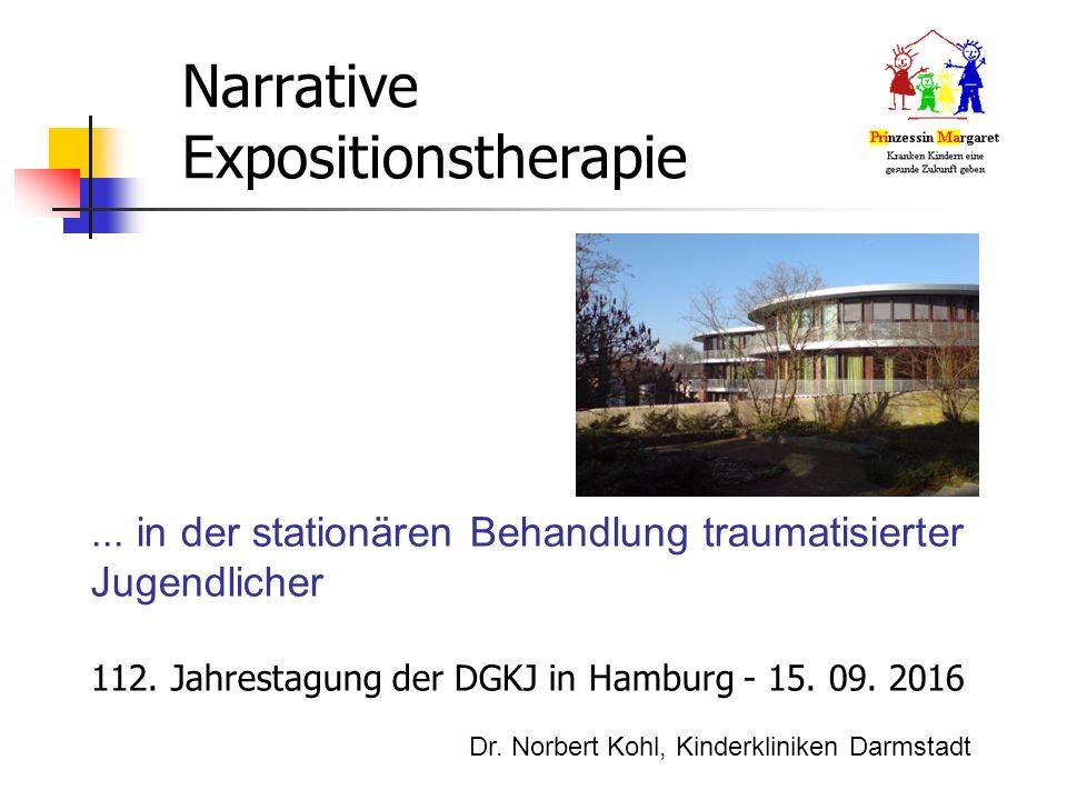 Narrative Expositionstherapie... in der stationären Behandlung traumatisierter Jugendlicher 112.