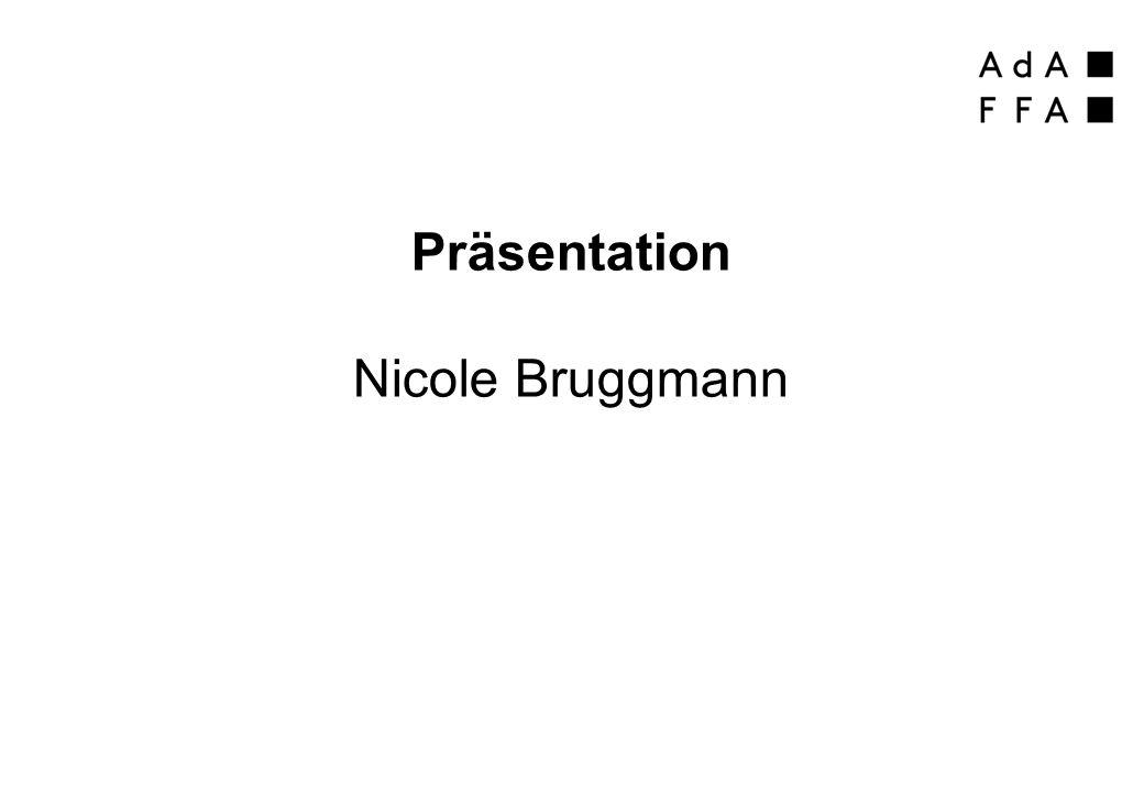 Präsentation Nicole Bruggmann