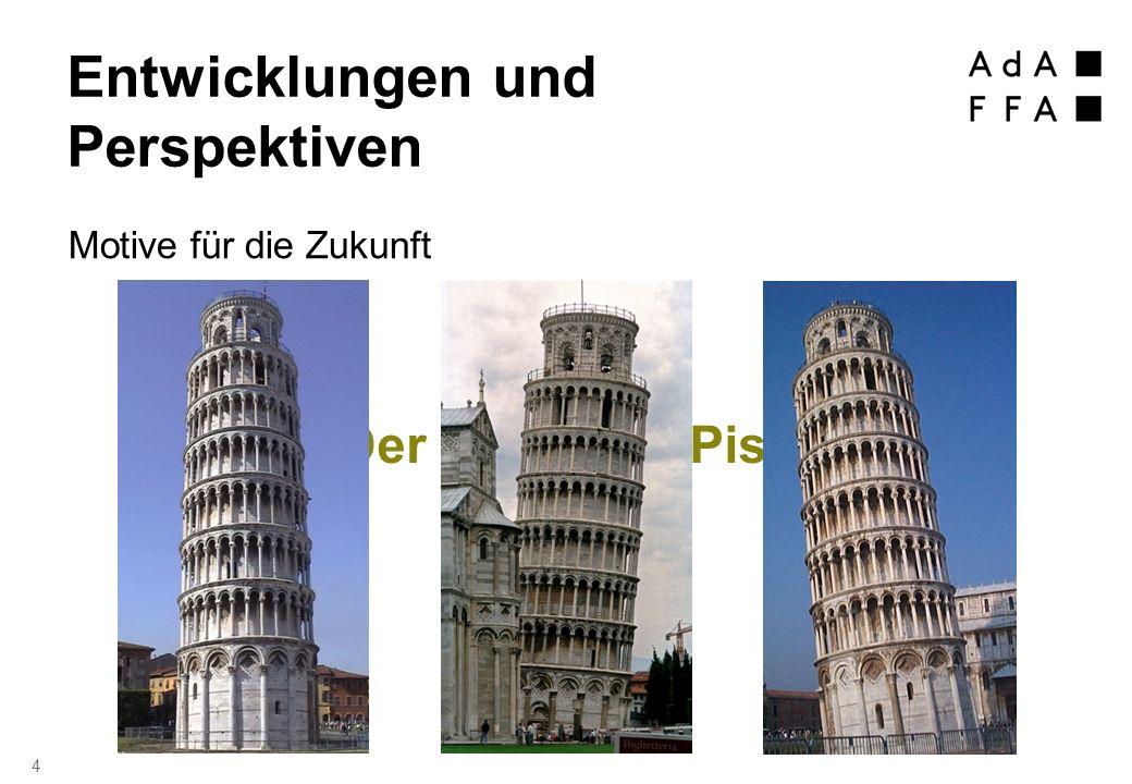 Der Turm von Pisa 4 Entwicklungen und Perspektiven Motive für die Zukunft