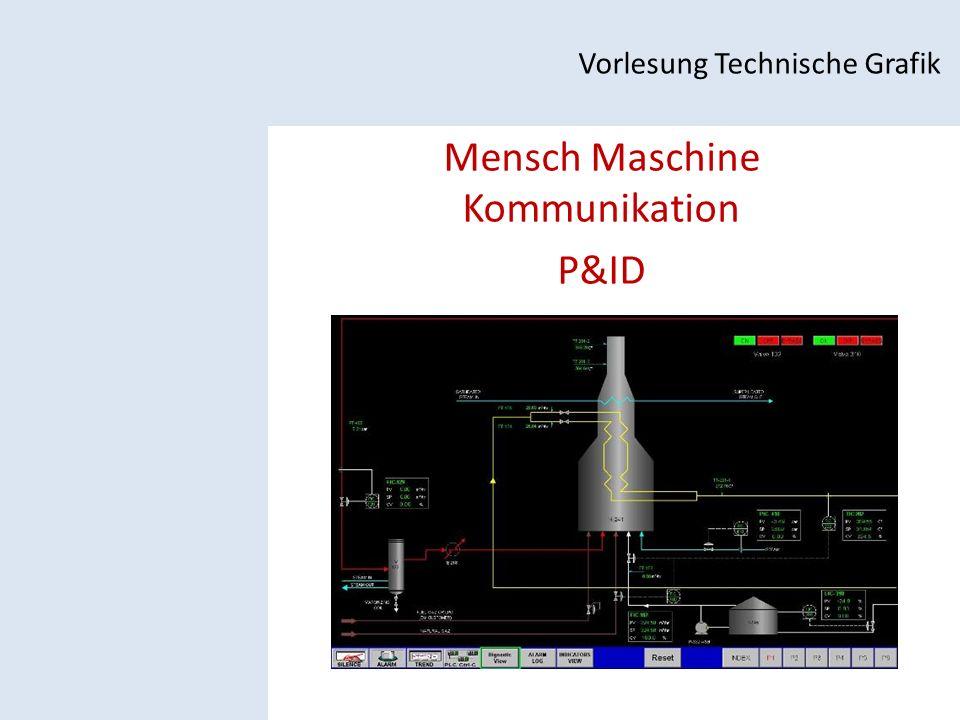 Mensch Maschine Kommunikation P&ID Vorlesung Technische Grafik
