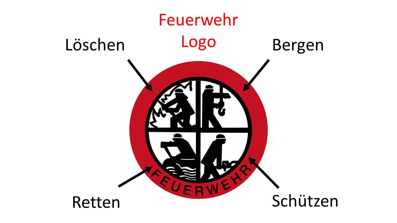 LöschenBergen Schützen Retten Feuerwehr Logo