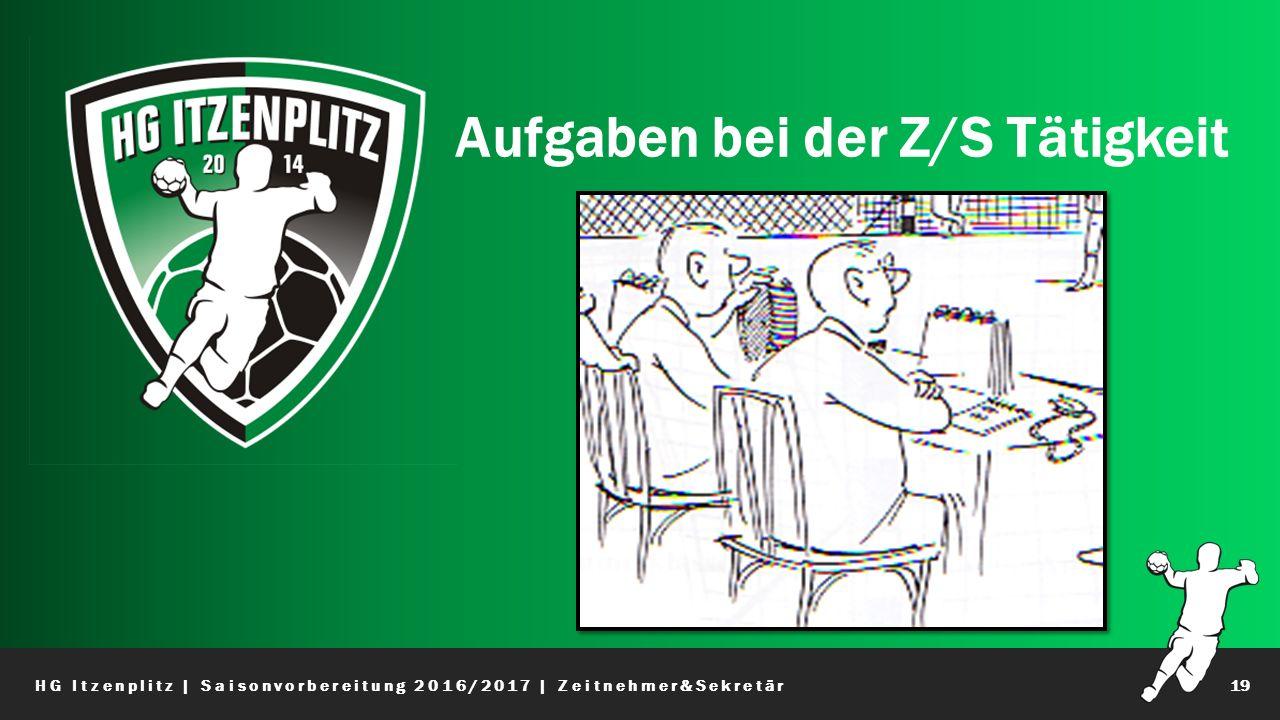 Aufgaben bei der Z/S Tätigkeit HG Itzenplitz | Saisonvorbereitung 2016/2017 | Zeitnehmer&Sekretär19