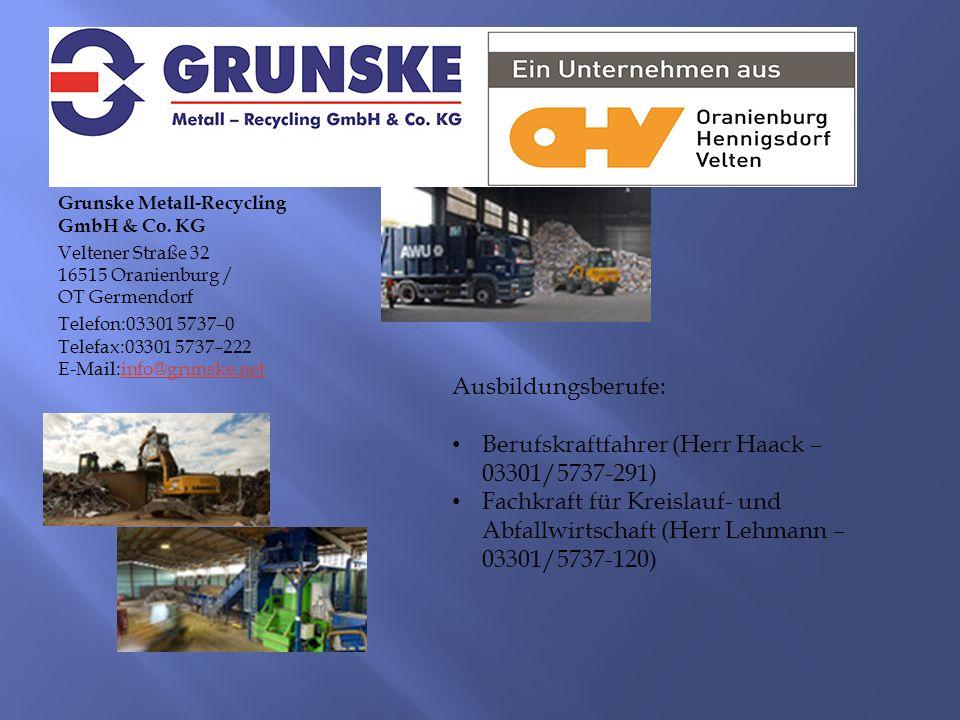Grunske Metall-Recycling GmbH & Co.