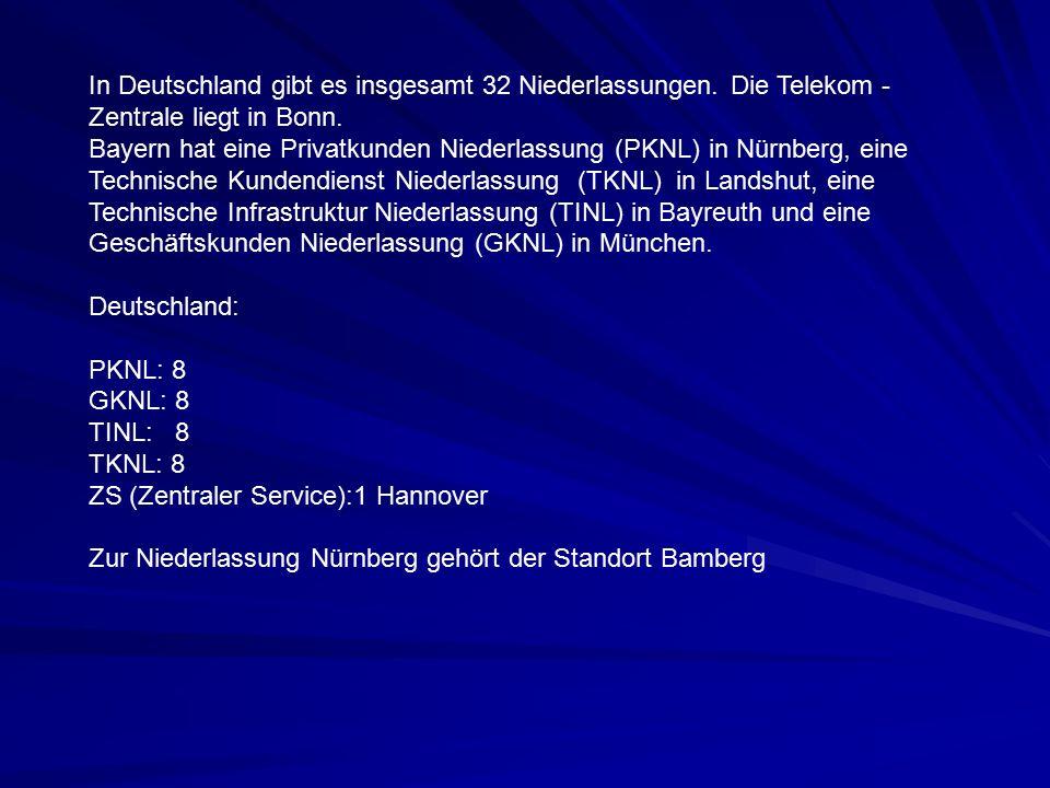 In Deutschland gibt es insgesamt 32 Niederlassungen.