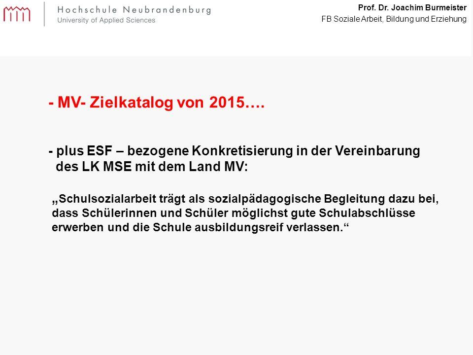 22 - MV- Zielkatalog von 2015….