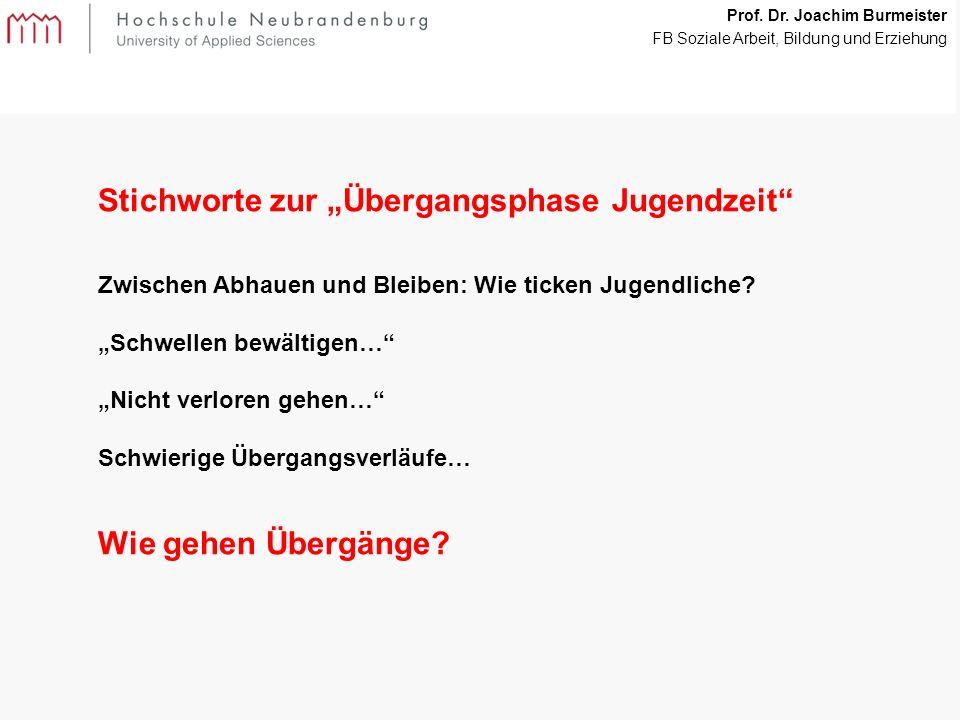 """3 Stichworte zur """"Übergangsphase Jugendzeit Zwischen Abhauen und Bleiben: Wie ticken Jugendliche."""