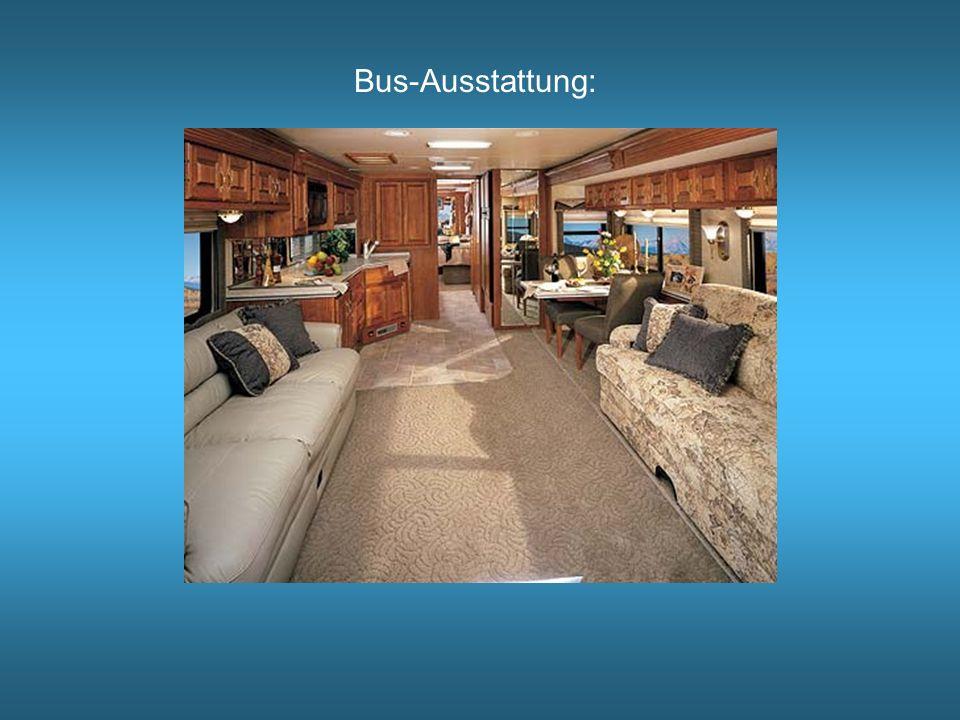 Bus-Ausstattung: