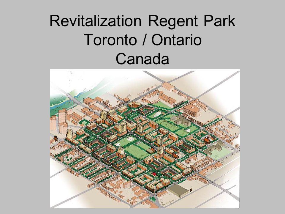 Revitalization Regent Park Toronto / Ontario Canada