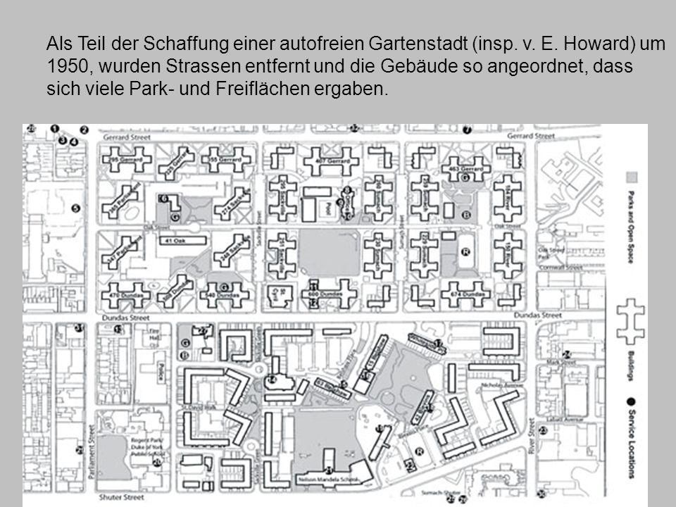 Als Teil der Schaffung einer autofreien Gartenstadt (insp.