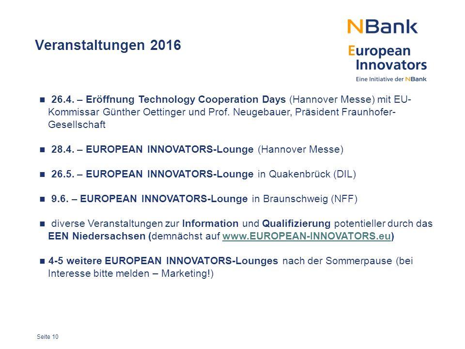 Seite 10 Veranstaltungen 2016 26.4.