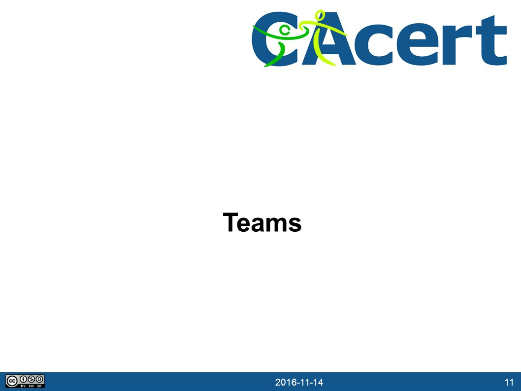 11 14.11.2016 Teams