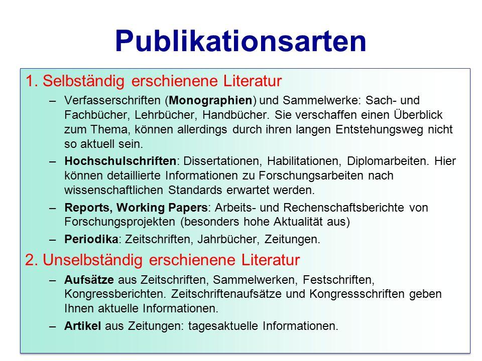 Publikationsarten 1.