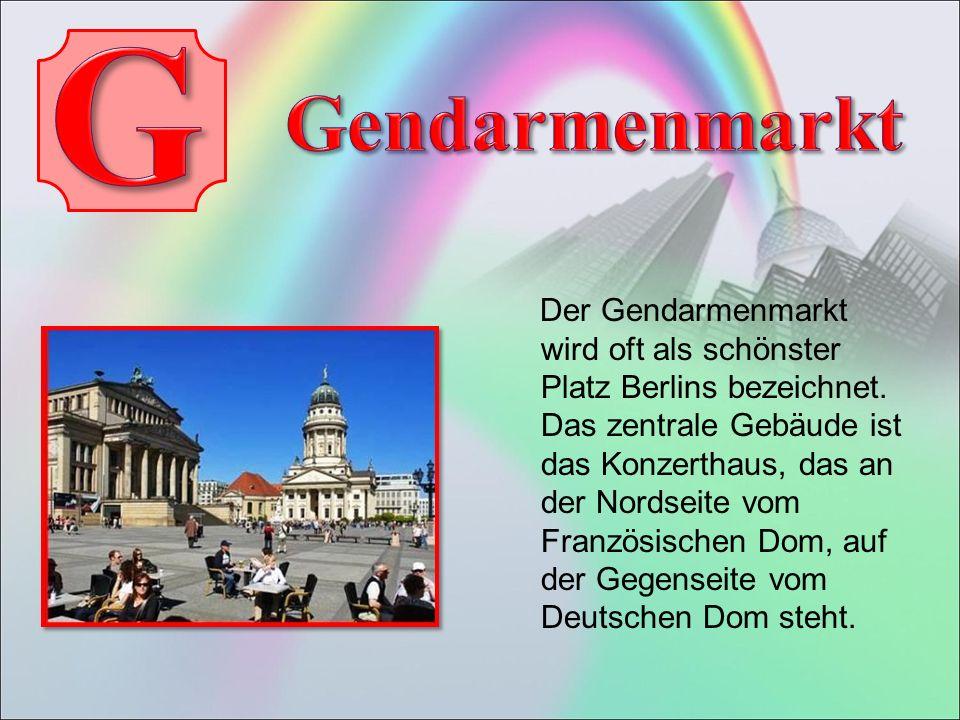 Der Gendarmenmarkt wird oft als schönster Platz Berlins bezeichnet.