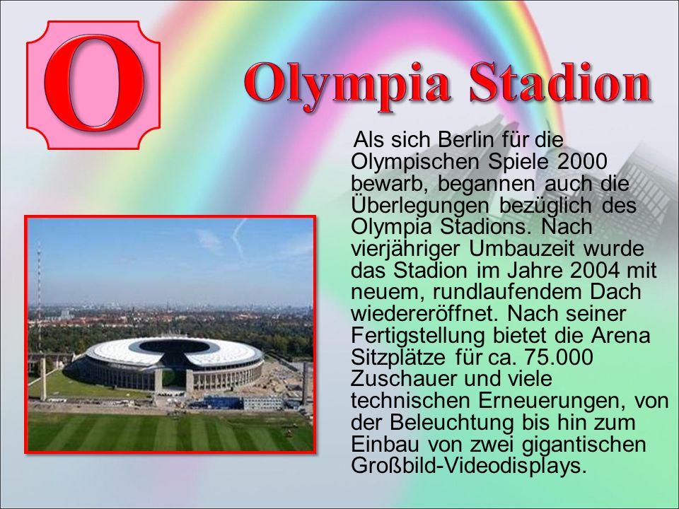 Als sich Berlin für die Olympischen Spiele 2000 bewarb, begannen auch die Überlegungen bezüglich des Olympia Stadions.