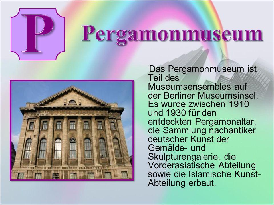 Das Pergamonmuseum ist Teil des Museumsensembles auf der Berliner Museumsinsel.