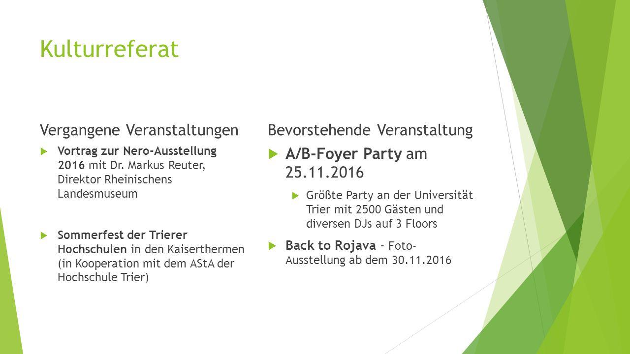Kulturreferat Vergangene Veranstaltungen  Vortrag zur Nero-Ausstellung 2016 mit Dr.