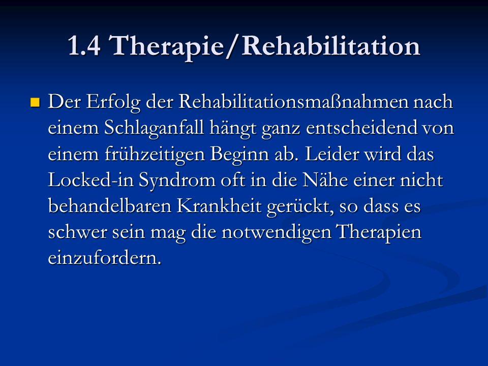 Der Erfolg der Rehabilitationsmaßnahmen nach einem Schlaganfall hängt ganz entscheidend von einem frühzeitigen Beginn ab.