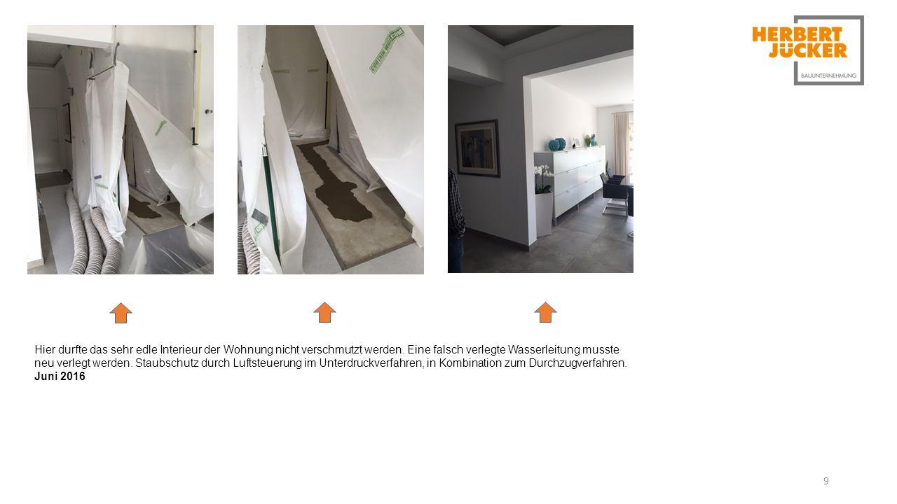 9 Hier durfte das sehr edle Interieur der Wohnung nicht verschmutzt werden.