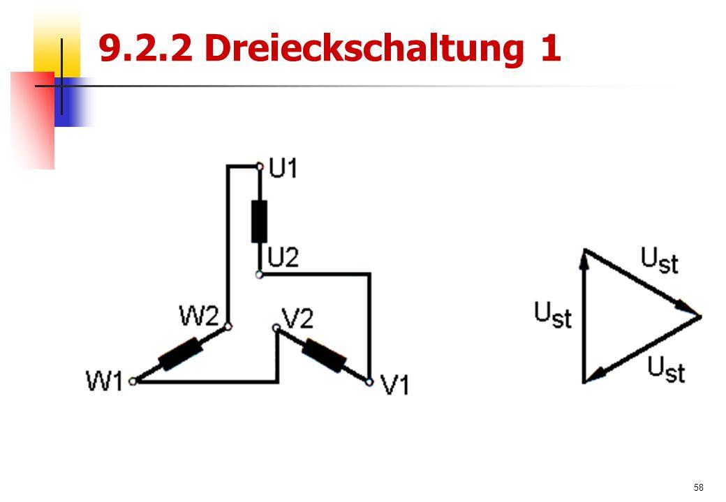 58 9.2.2 Dreieckschaltung 1