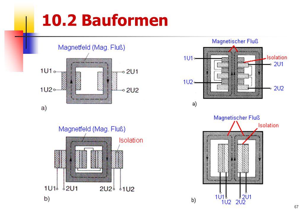 67 10.2 Bauformen