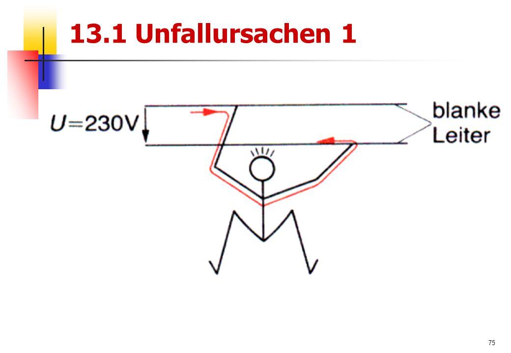 75 13.1 Unfallursachen 1