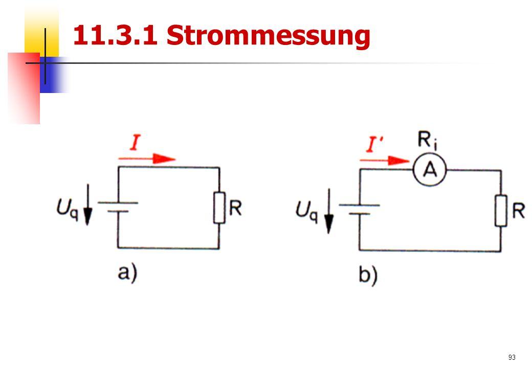 93 11.3.1 Strommessung