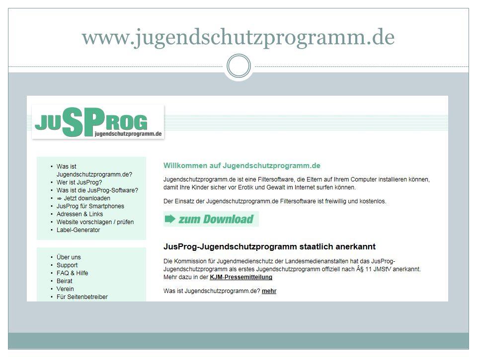 www.jugendschutzprogramm.de