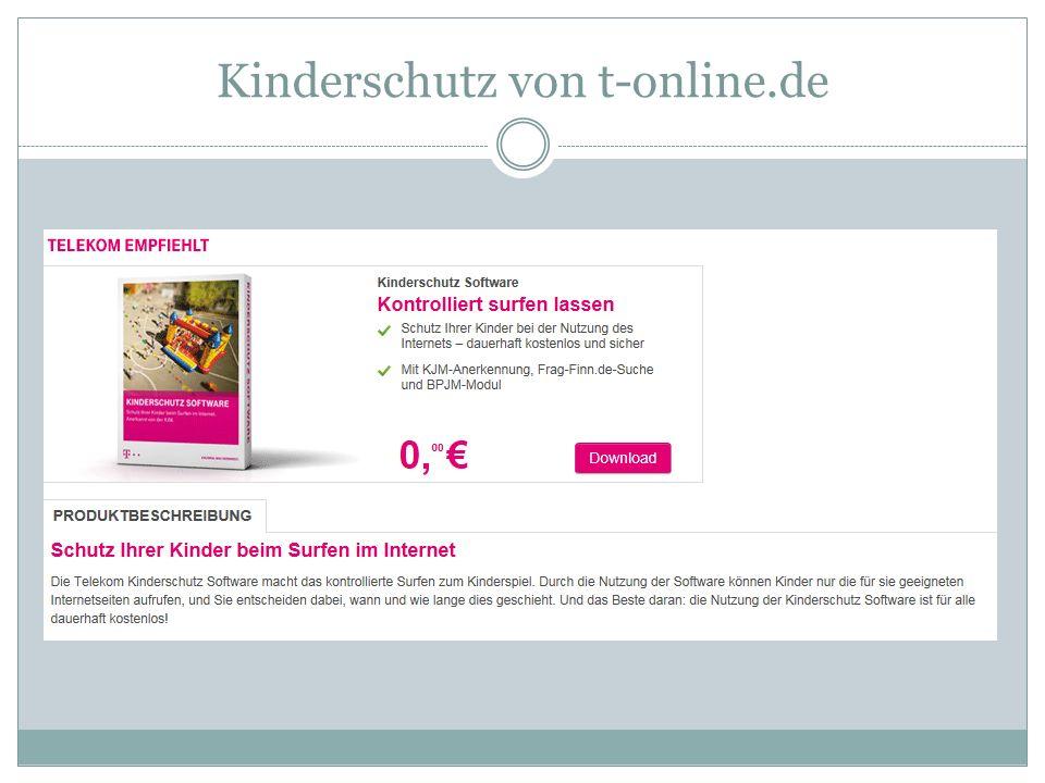 Kinderschutz von t-online.de
