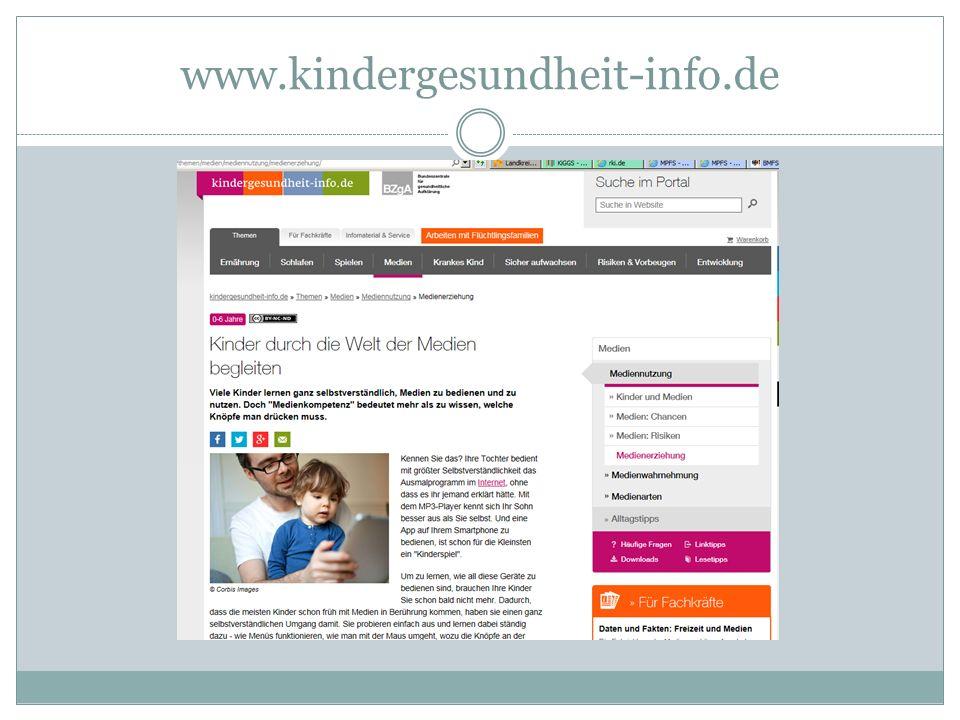 www.kindergesundheit-info.de