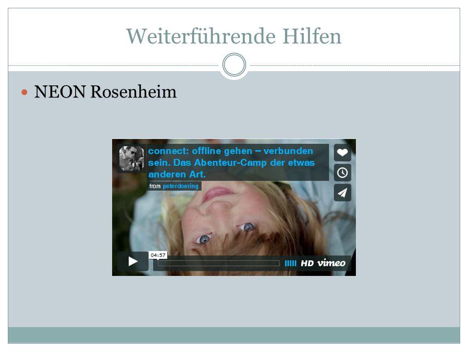 NEON Rosenheim