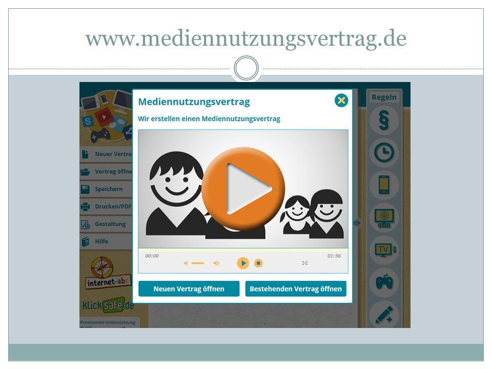 www.mediennutzungsvertrag.de