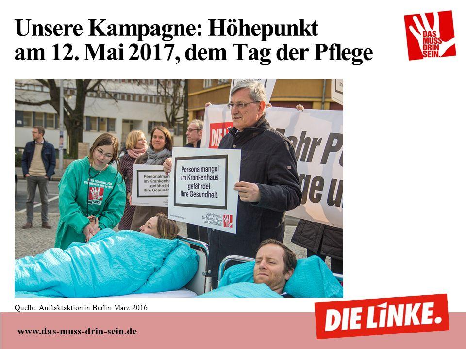 www.das-muss-drin-sein.de Unsere Kampagne: Höhepunkt am 12.