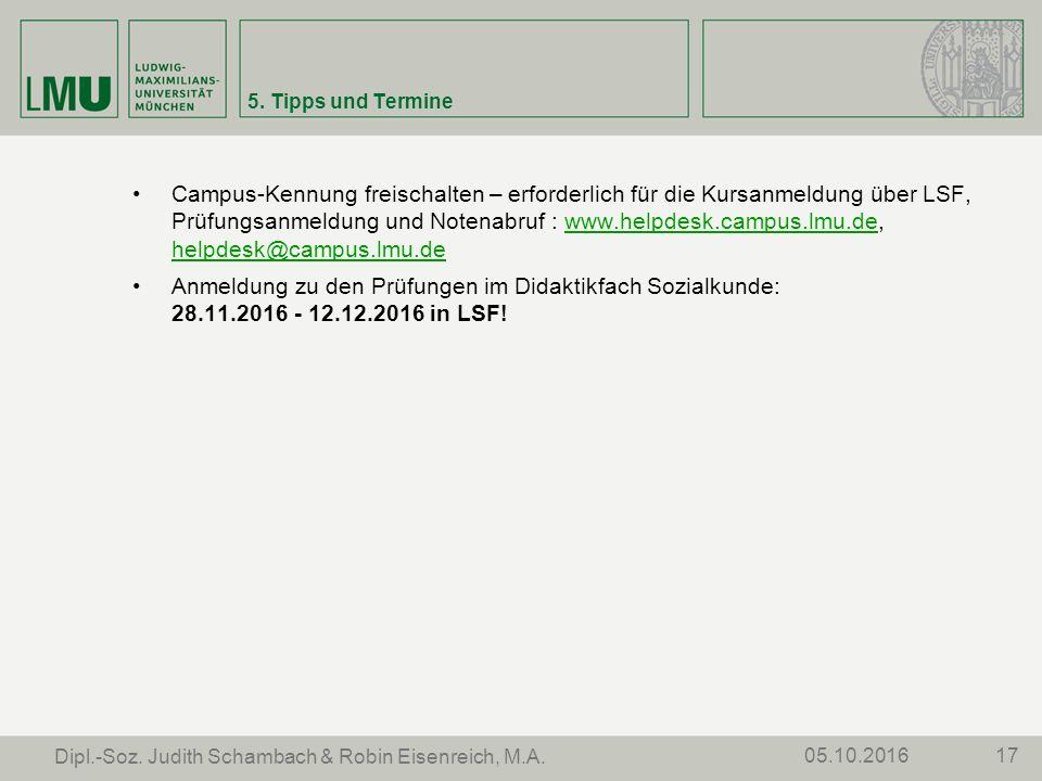 Campus-Kennung freischalten – erforderlich für die Kursanmeldung über LSF, Prüfungsanmeldung und Notenabruf : www.helpdesk.campus.lmu.de, helpdesk@campus.lmu.dewww.helpdesk.campus.lmu.de helpdesk@campus.lmu.de Anmeldung zu den Prüfungen im Didaktikfach Sozialkunde: 28.11.2016 - 12.12.2016 in LSF.