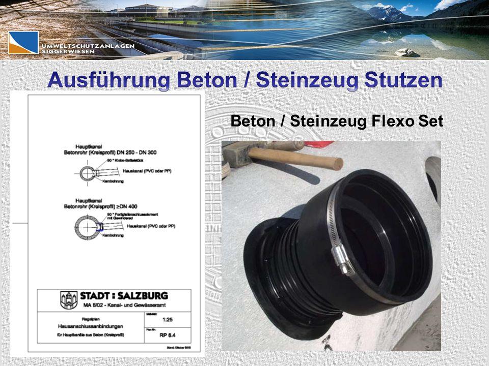Beton / Steinzeug Flexo Set
