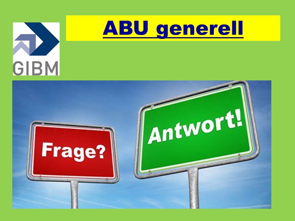 ABU generell