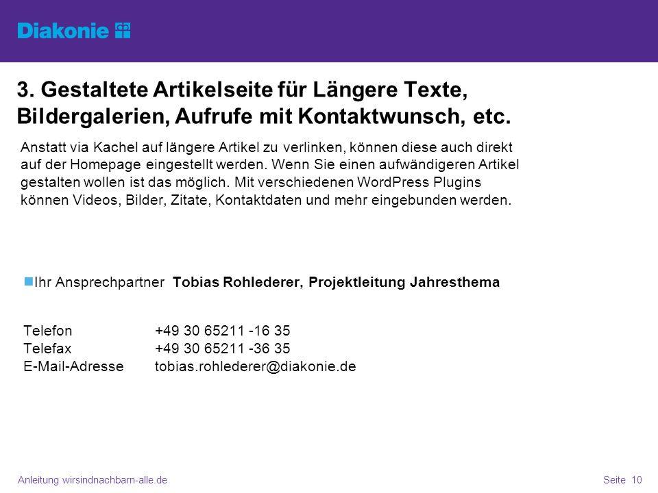 Anleitung wirsindnachbarn-alle.deSeite 10 3.