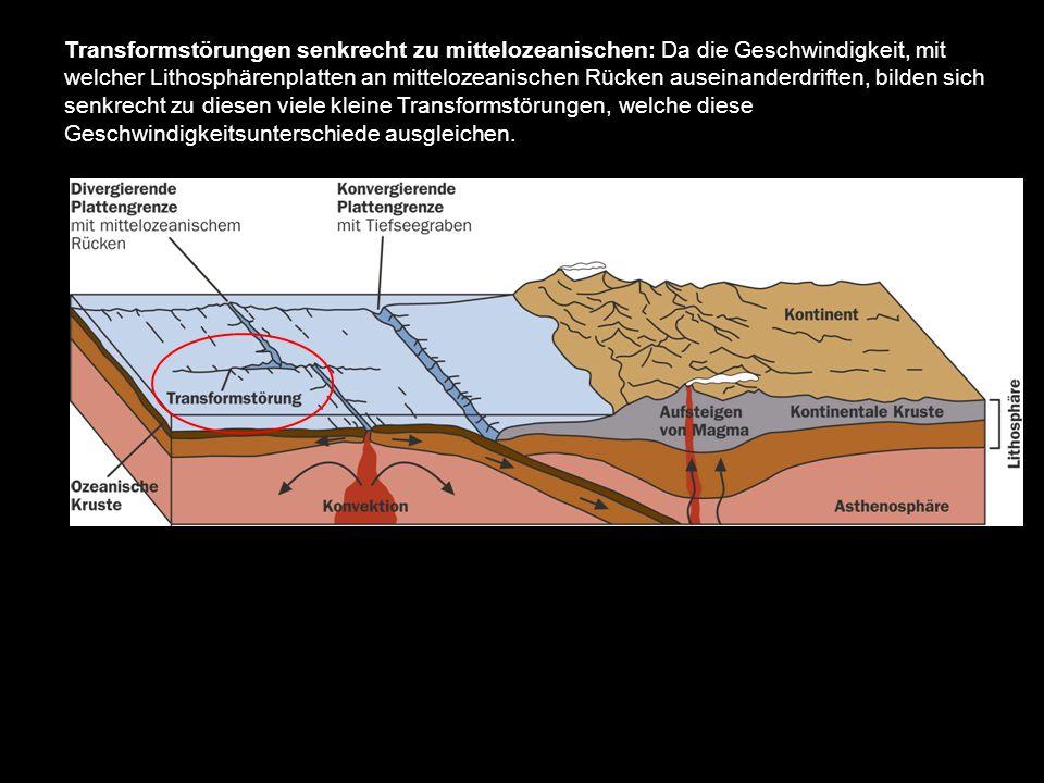 lithosphärenplatten und ihre bewegungen