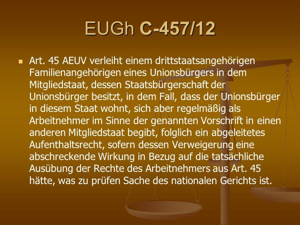 EUGh C-457/12 Art.